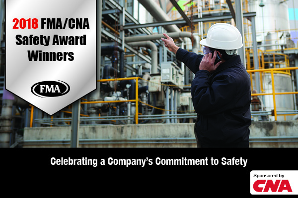 congratulations 2018 fma cna safety award winners fabricators