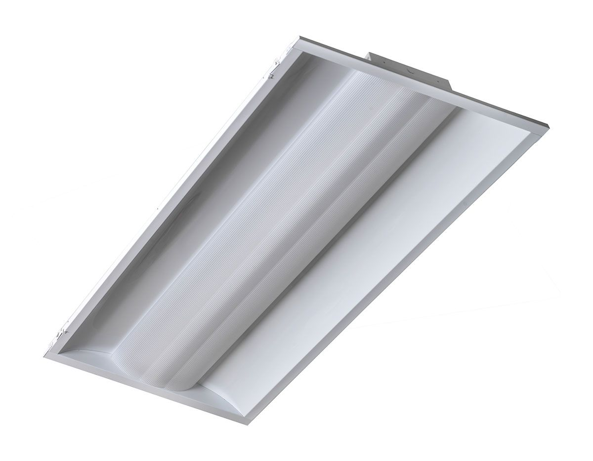 Retrofit Lighting  sc 1 st  Fabricators u0026 Manufacturers Association & LED lighting troffer conversion kit cuts energy costs - Fabricators ...