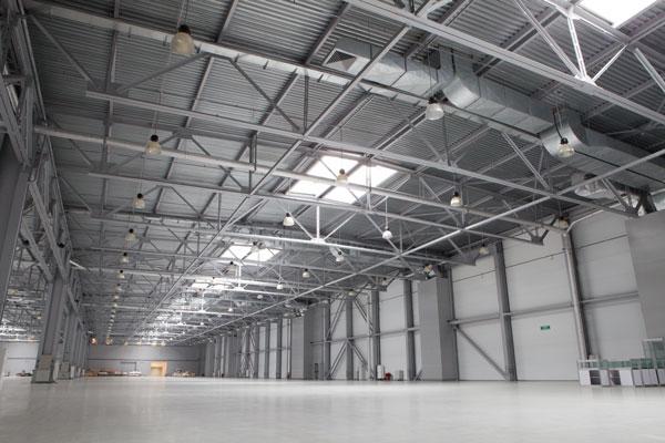 Warehouse lighting bulbs